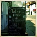 gluten free blackboard