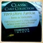 Yorkshire Parkin label