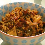 Currant and Leek Quinoa stuffing - Version 2