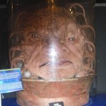 A monster; Dr. Who Experience Cardiff.