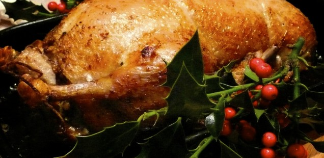 Cook: Roast Duck with Gluten-Free Stuffing for a smaller Christmas setting