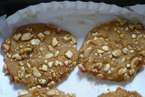 Cashew and Yam Cookies
